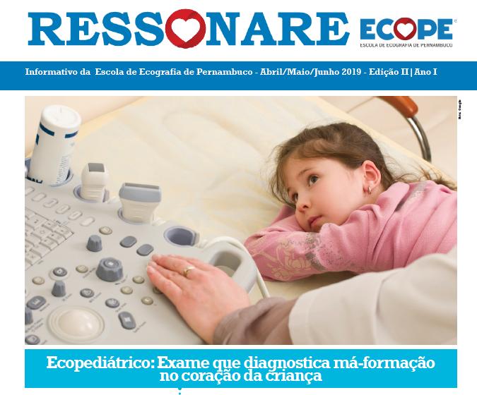 Lançamento da 2ª Edição do Ressonare, jornal interno da Ecope